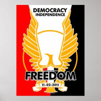 ¡Egipto está libre! Póster