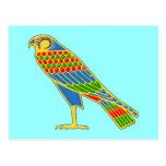 Egipto halcón egypt falcon postales
