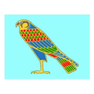 Egipto halcón egypt falcon tarjetas postales