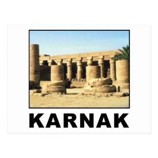 Egipto Karnak Postales