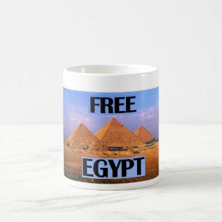 Egipto libre - atracción de las pirámides tazas de café