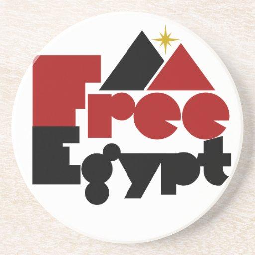 Egipto libre posavaso para bebida