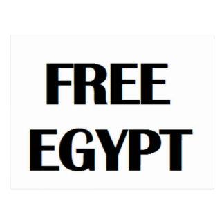 Egipto libre postal