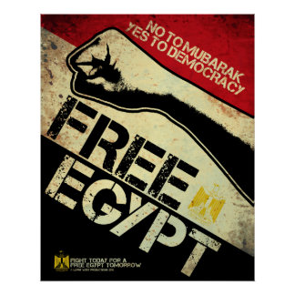 ¡Egipto libre! Póster