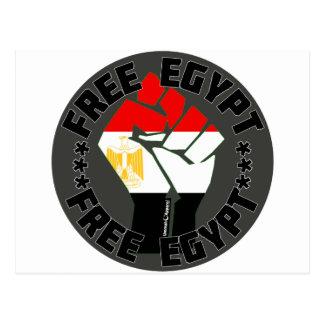 Egipto libre tarjetas postales