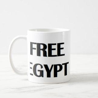Egipto libre tazas de café