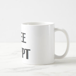 Egipto libre taza de café