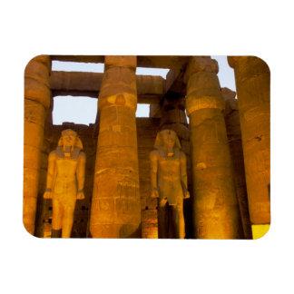 Egipto, Luxor.  Templo de Karnack Iman Flexible