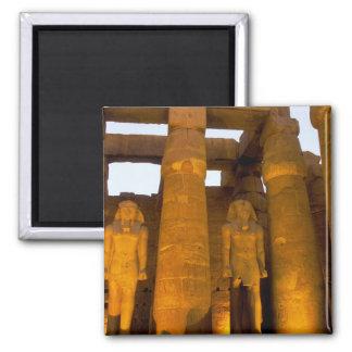 Egipto, Luxor.  Templo de Karnack Imán Cuadrado