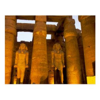 Egipto, Luxor.  Templo de Karnack Postal