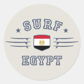 Egipto Etiquetas Redondas