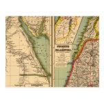 Egipto, Phoenicia y Palestina Postal