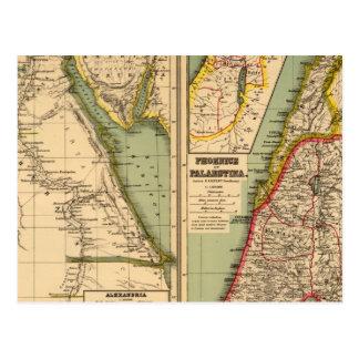 Egipto Phoenicia y Palestina Postal