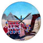 Egipto - reloj de pared
