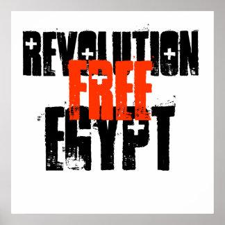EGIPTO, REVOLUCIÓN, LIBRE PÓSTER