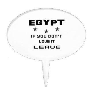 Egipto si usted no lo ama, se va figura de tarta