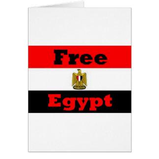Egipto Tarjeta De Felicitación