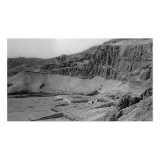 Egipto. Templo del EL Bahre de Dier circa 1936 Tarjetas De Visita
