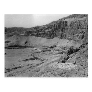 Egipto. Templo del EL Bahre de Dier circa 1936 Tarjeta Postal