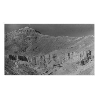 Egipto. Valle de las tumbas de los reyes c.1936 Tarjetas De Visita