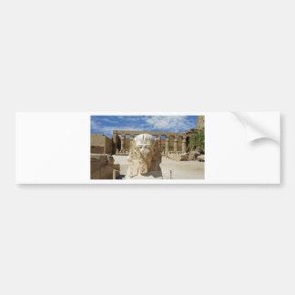 Egipto viejo pegatina de parachoque