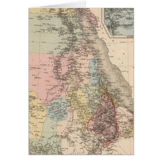 Egipto y Abyssinia Tarjeta De Felicitación