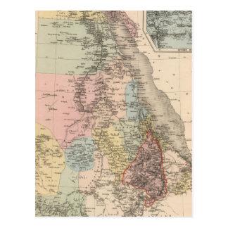 Egipto y Abyssinia Postal