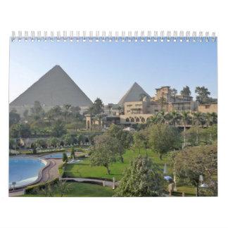 Egipto y Jordania Calendario De Pared