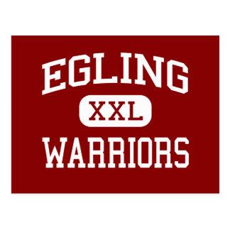 Egling - Warriors - Middle - Colusa California Postcard