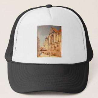 Eglise de Moret by Alfred Sisley Trucker Hat