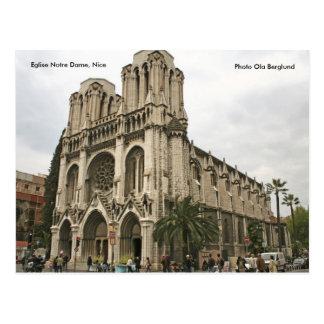 Eglise Notre Dame, Nice, Photo Ol... Postcard