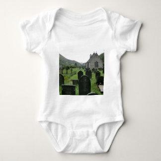 Eglwys Tydecho Sant (Llanmawddwy Parish Church) Baby Bodysuit