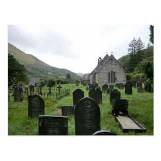 Eglwys Tydecho Sant (Llanmawddwy Parish Church) Postcard