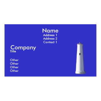Egmont Key Double-Sided Standard Business Cards (Pack Of 100)