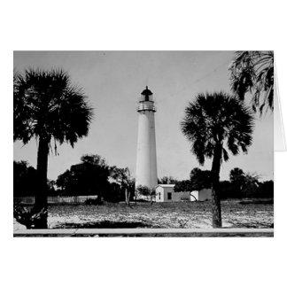 Egmont Key Lighthouse Card