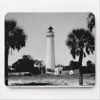 Egmont Key Lighthouse Mouse Pad