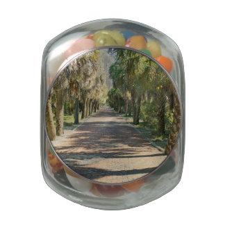 Egmonts Past Glass Candy Jars