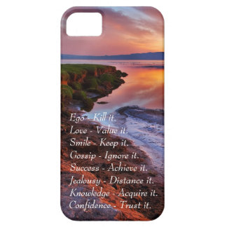 Ego Kill it Love value it Smile Keep it quote iPhone SE/5/5s Case