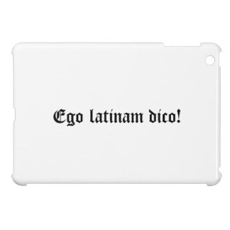 Ego latinam dico! iPad mini covers