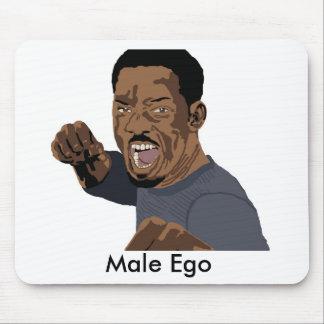 Ego masculino mouse pad
