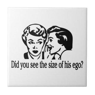 Ego Size Retro Ceramic Tile