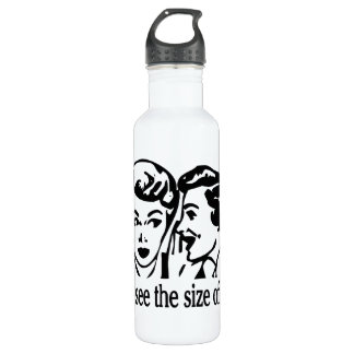 Ego Size Retro Stainless Steel Water Bottle