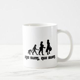 Ego sum, qui sum. 2 classic white coffee mug
