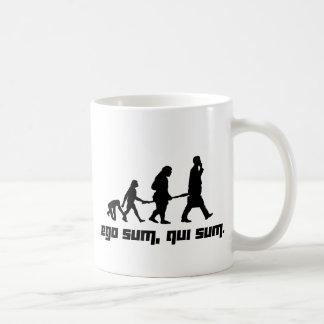 Ego sum, qui sum. classic white coffee mug