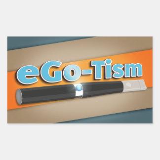 eGo-Tism Rectangular Sticker