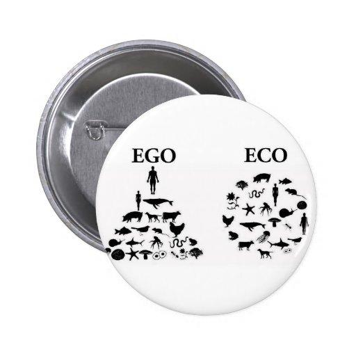 Ego vs. Eco Pin