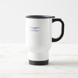 egocentric travel mug
