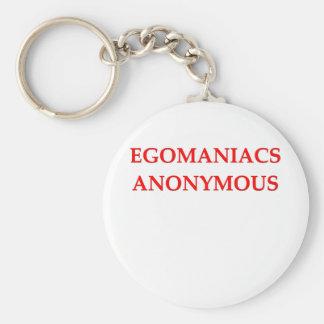egomaniac keychain