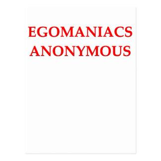 egomaniac postal