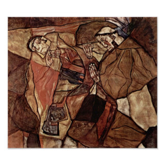 Egon Schiele - Agony (The Death Struggle) Poster